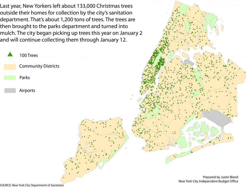 How Many Christmas Trees Do New Yorkers Leave for Curbside Pick-up ...
