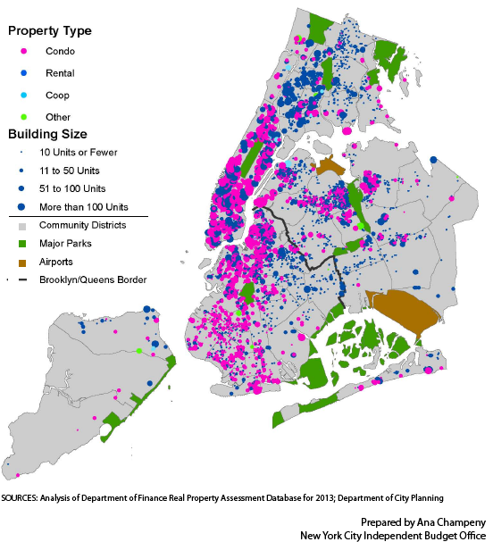 New York City Tax Map What Type and Size of Buildings Are Receiving 421 a Property Tax